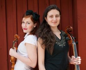 Ellinor & Leonor. Foto: Erik Fanki