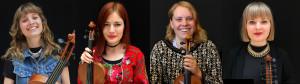 Emma Lagerberg, Ellinor Fritz, Stina Brandin & Lovisa Risinger